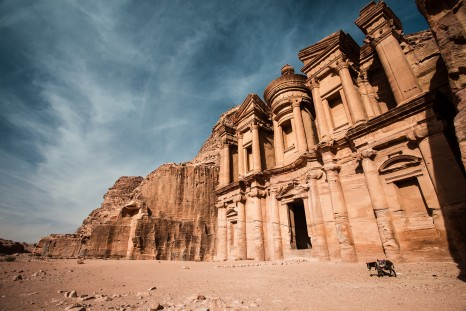 The Monastery in ancient city of Petra, Jordan.