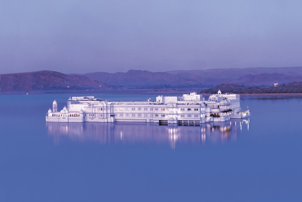 Taj Lake Palace Hotel, Udaipur, India