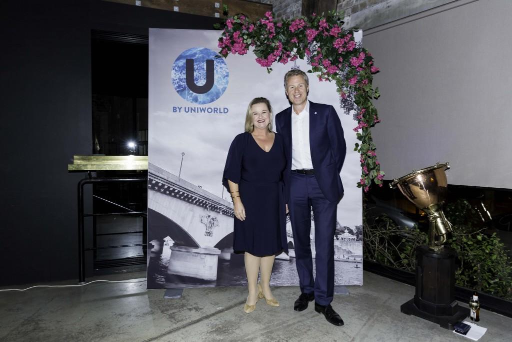 Fiona Dalton Uniworld MD and John Veitch TTC CEO
