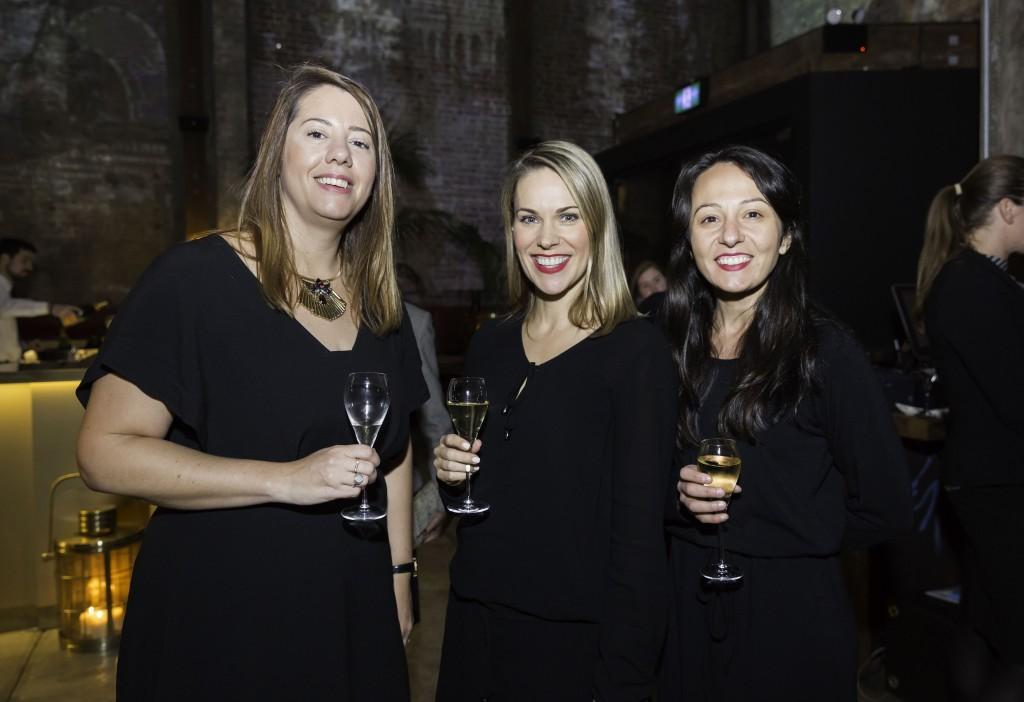 Nathaly Naughton, Contiki Head of Sales, Katrina Barry Contiki MD, Vanessa Stavrou Head of marketing