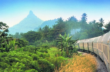 Orient Express scenic shot