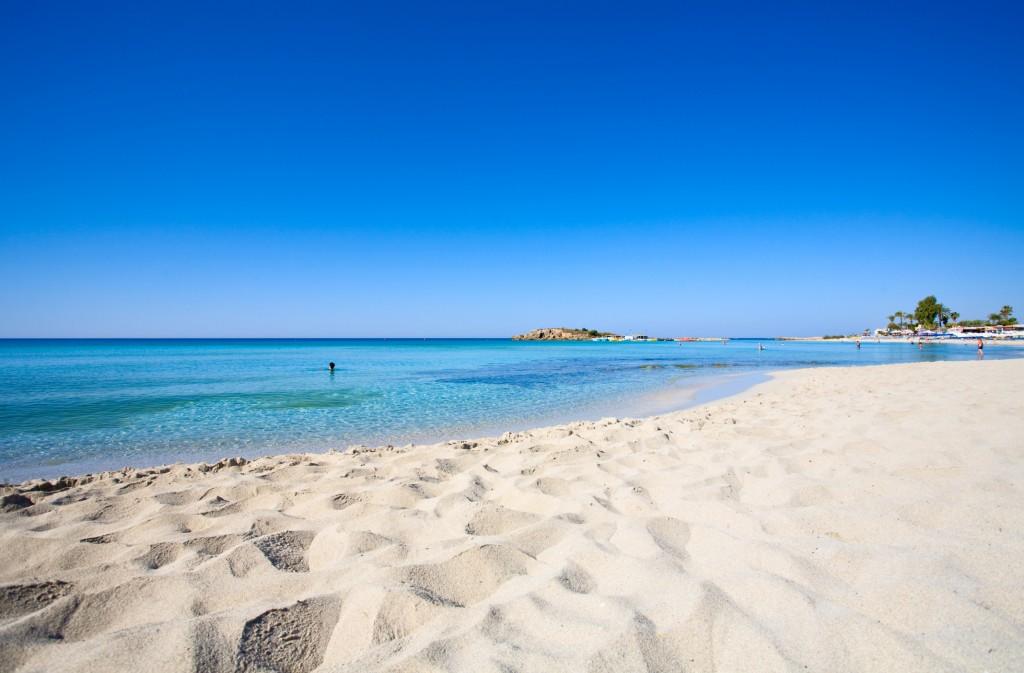 Nissi bay - Ayia Napa town - Cyprus