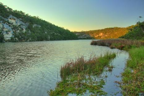 The serene Glenelg River, Victoria, Australia
