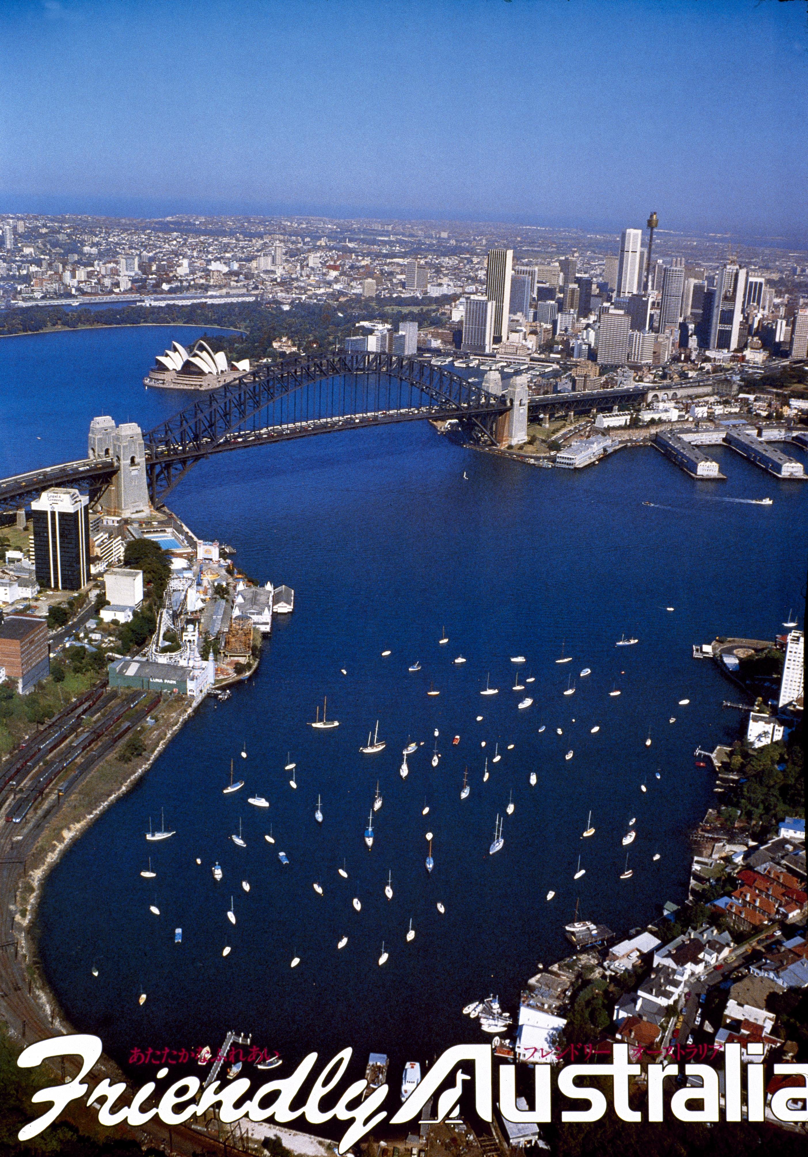 1970s_ Friendly Australia_Sydney Harbour