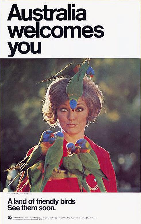 1970s_Australia Welcomes You_ Location Currumbin