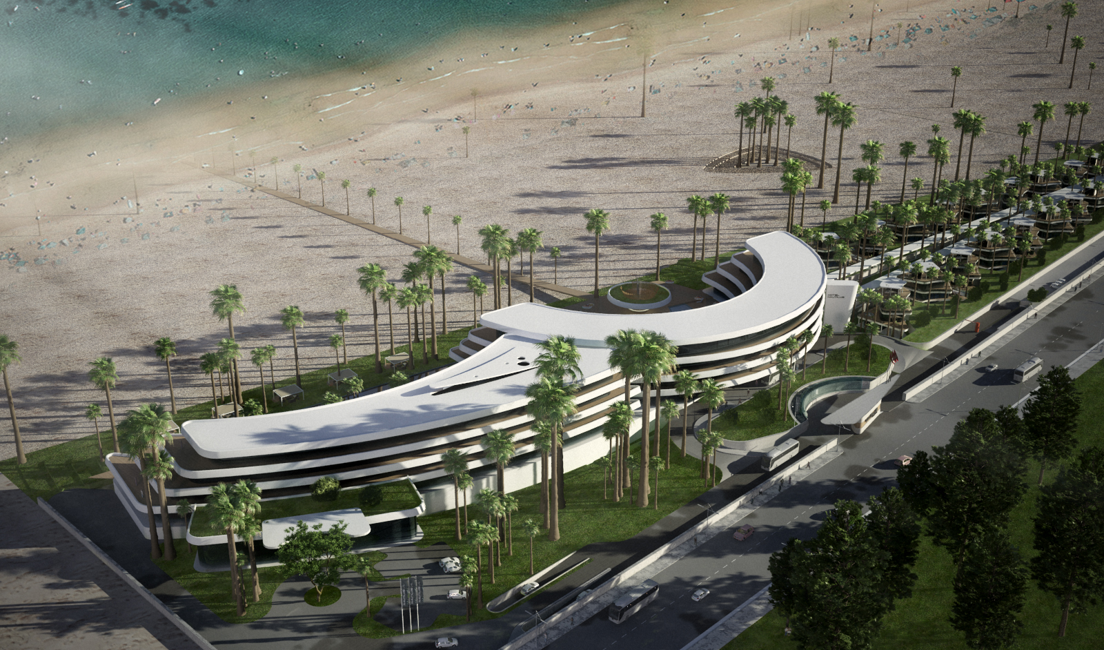 AVANI Gammarth Tunis Resort & Spa exterior rendering