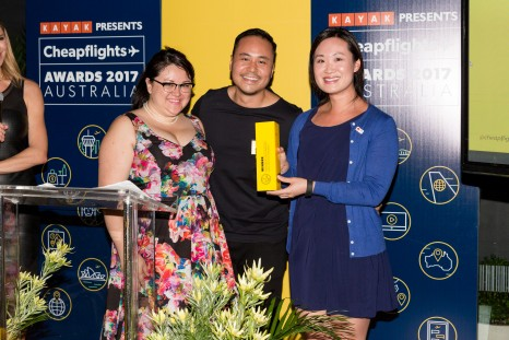 Cheapflights Awards 2017 - FAVOURITE DESTINATION - ASIA PACIFIC HOLIDAY