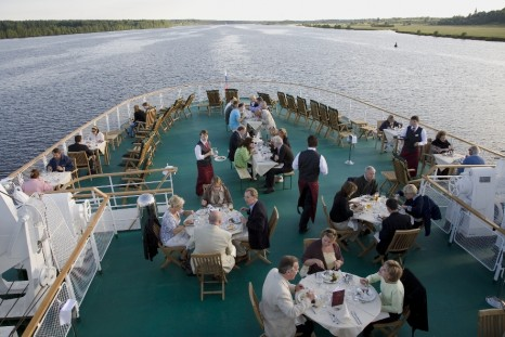 Volga Dream Ship - BBQ area