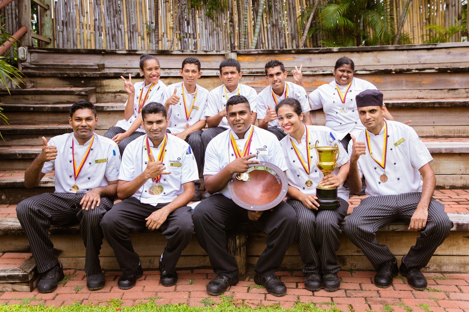 Outrigger Fiji_winning chefs