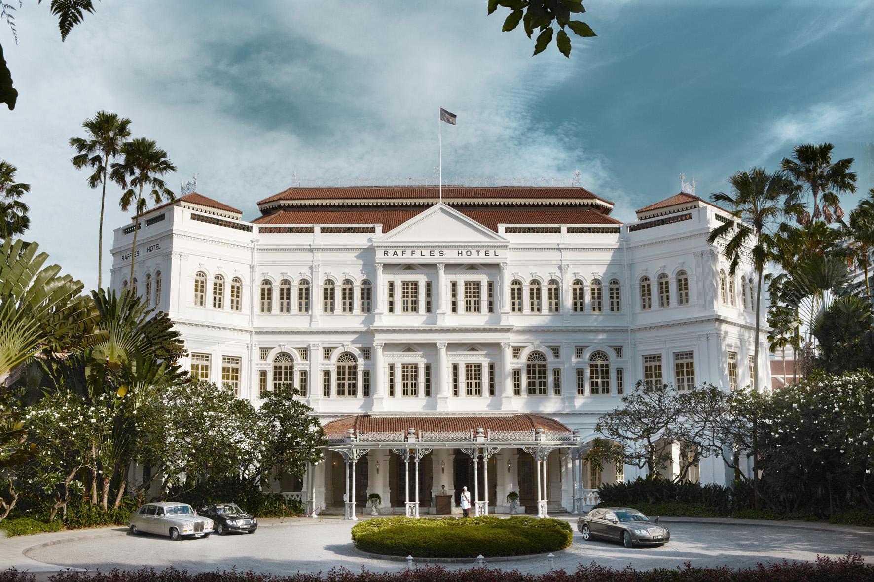 Raffles Hotel Singapore - Hotel Facade 1
