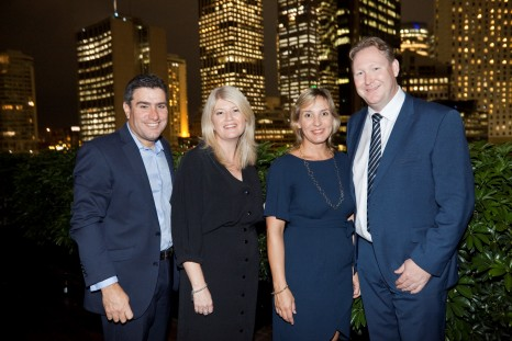 Travellers Choice senior management team (L-R) Justin, Nicole, Robyn Mitchell and Christian Hunter