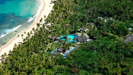 Anantara Marau Bahia Resort aerial view high res