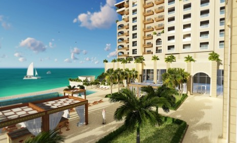 Anantara Sharjah Resort exterior rendering low res