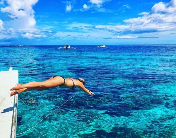 Diving in Bohol, credit Belinda King