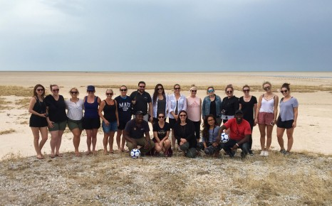 Flight Centre group in Etosha_On The Go Tours