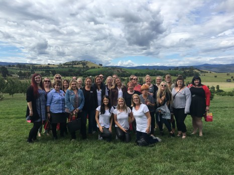 Travel agents on Globus family of brands' Day of Discovery in the Yarra Valley