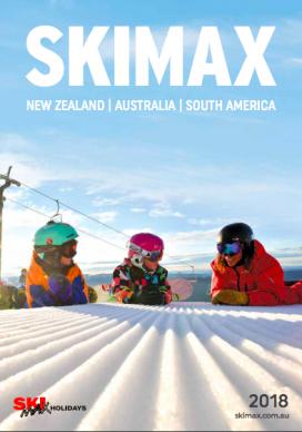 SKIMAX 2018 brochure cover