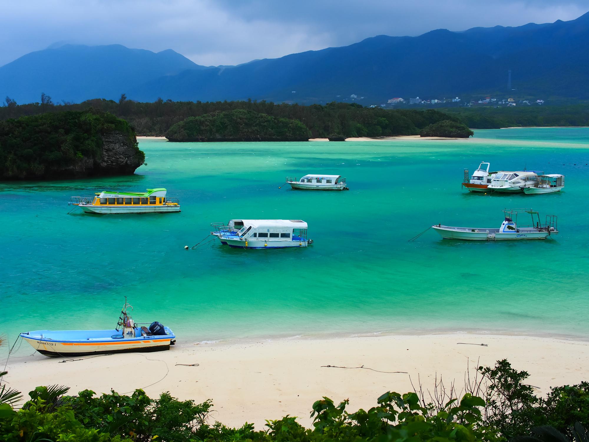 Kabirawan view at Ishigaki-jima,Okinawa,Japan