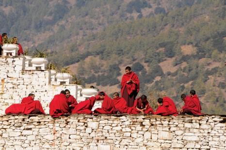 Bhutan_Monastery_Monks_Paro_Culture-small
