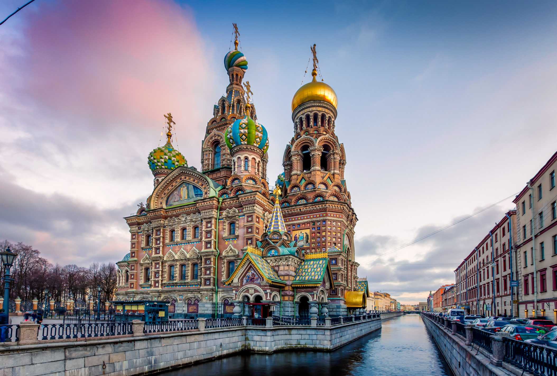 The Church of the Savior on Spilled Blood is one of the main sights of St. Petersburg, Russia. Other names include the Church on Spilled Blood, the Temple of the Savior on Spilled Blood, and the Cathedral of the Resurrection of Christ. This Church was built on the site where Emperor Alexander II was fatally wounded in March 1881.The church was built between 1883 and 1907. The construction was funded by the imperial family.