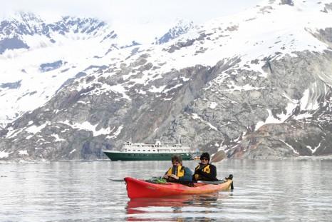kayak-glacier