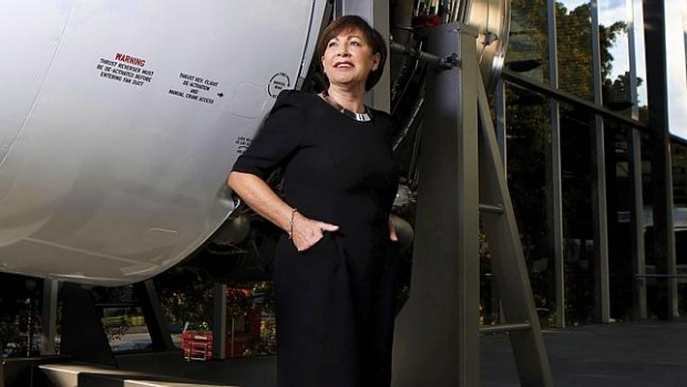 Qantas' People and Culture group executive Lesley Grant