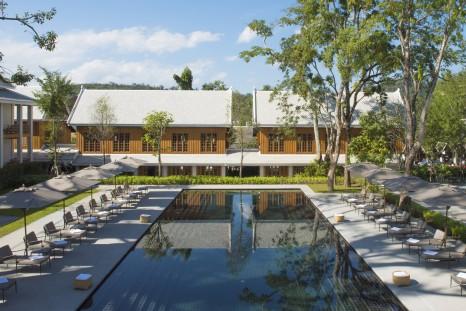 Swimming Pool Hotel Azerai; Luang Prabang; Laos