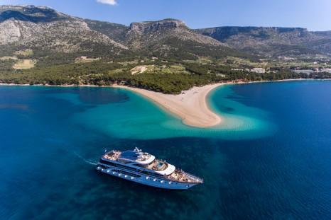 Cruising the Adriatic Sea with Cruise Croatia. Pic supplied by Cruise Croatia