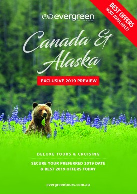 Evergreen Cruises and Tours_Canada 2019 Preview Cover_HR