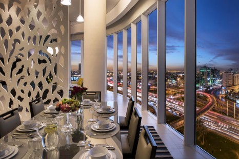 Fraser Suites Riyadh - Penthouse Dining Room low