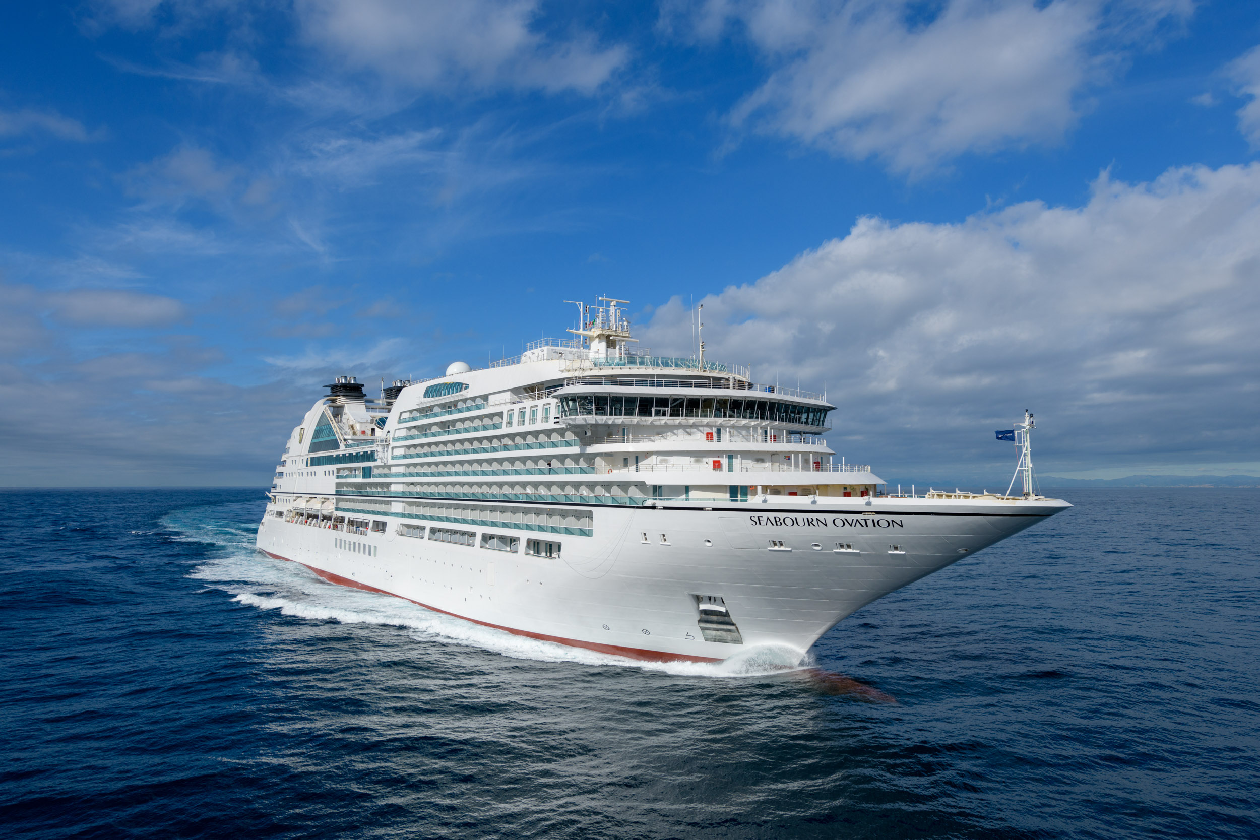 Seabourn Ovation Sea Trials