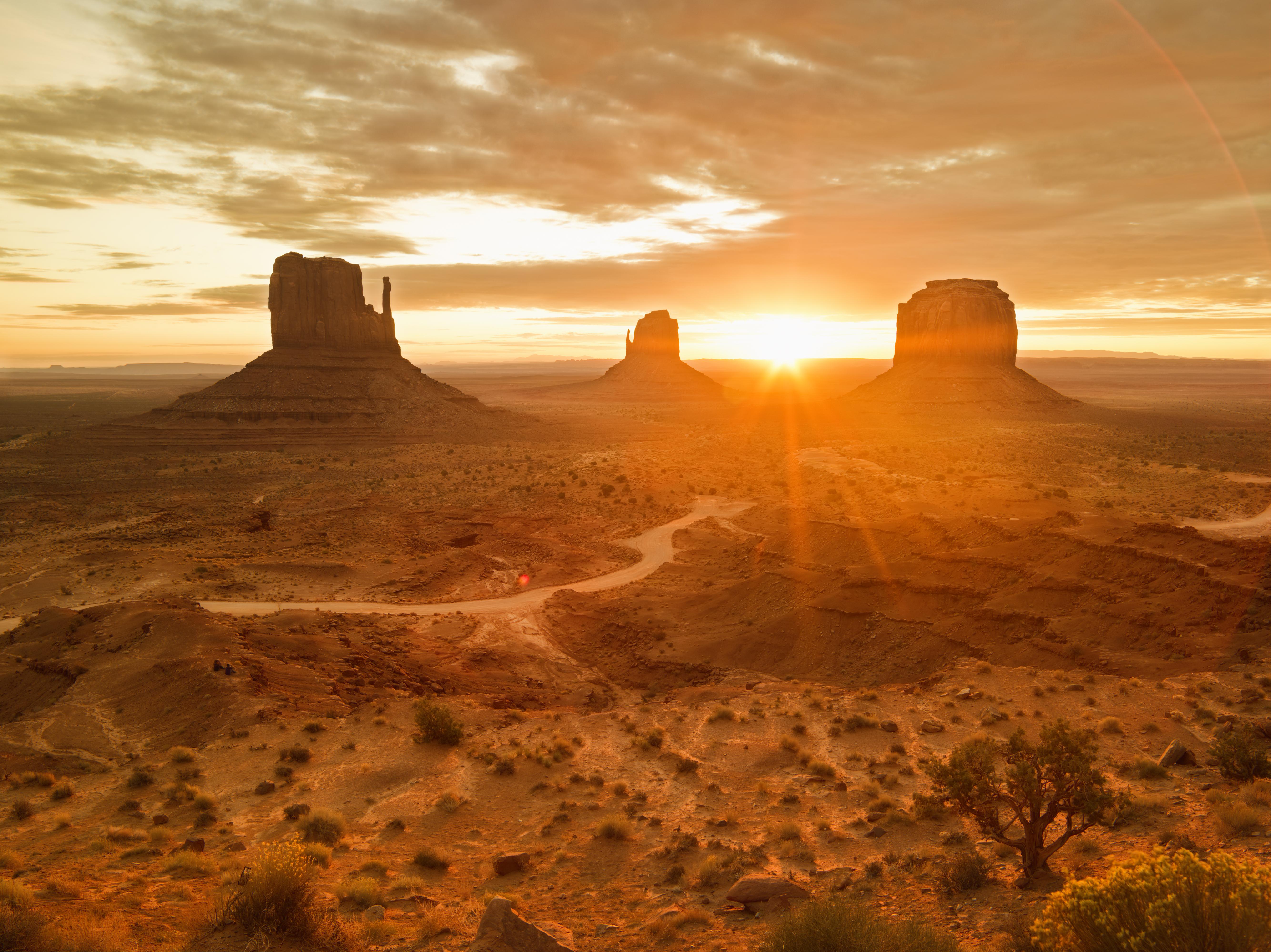 Navajo Tribal Park in Arizona USA