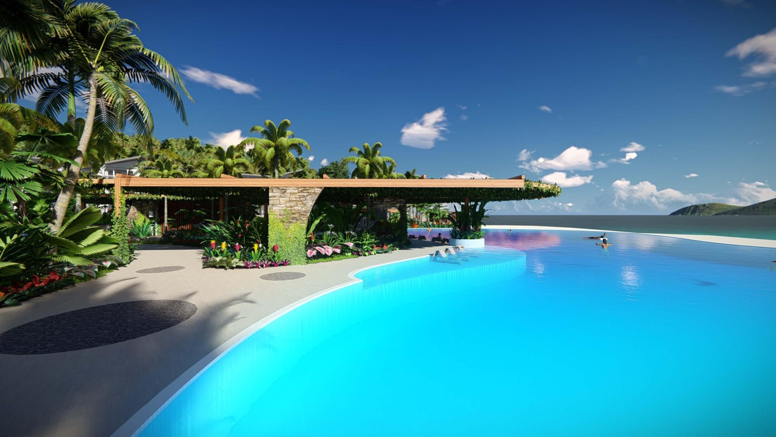 Daydream Island CGI Pool Concept 4