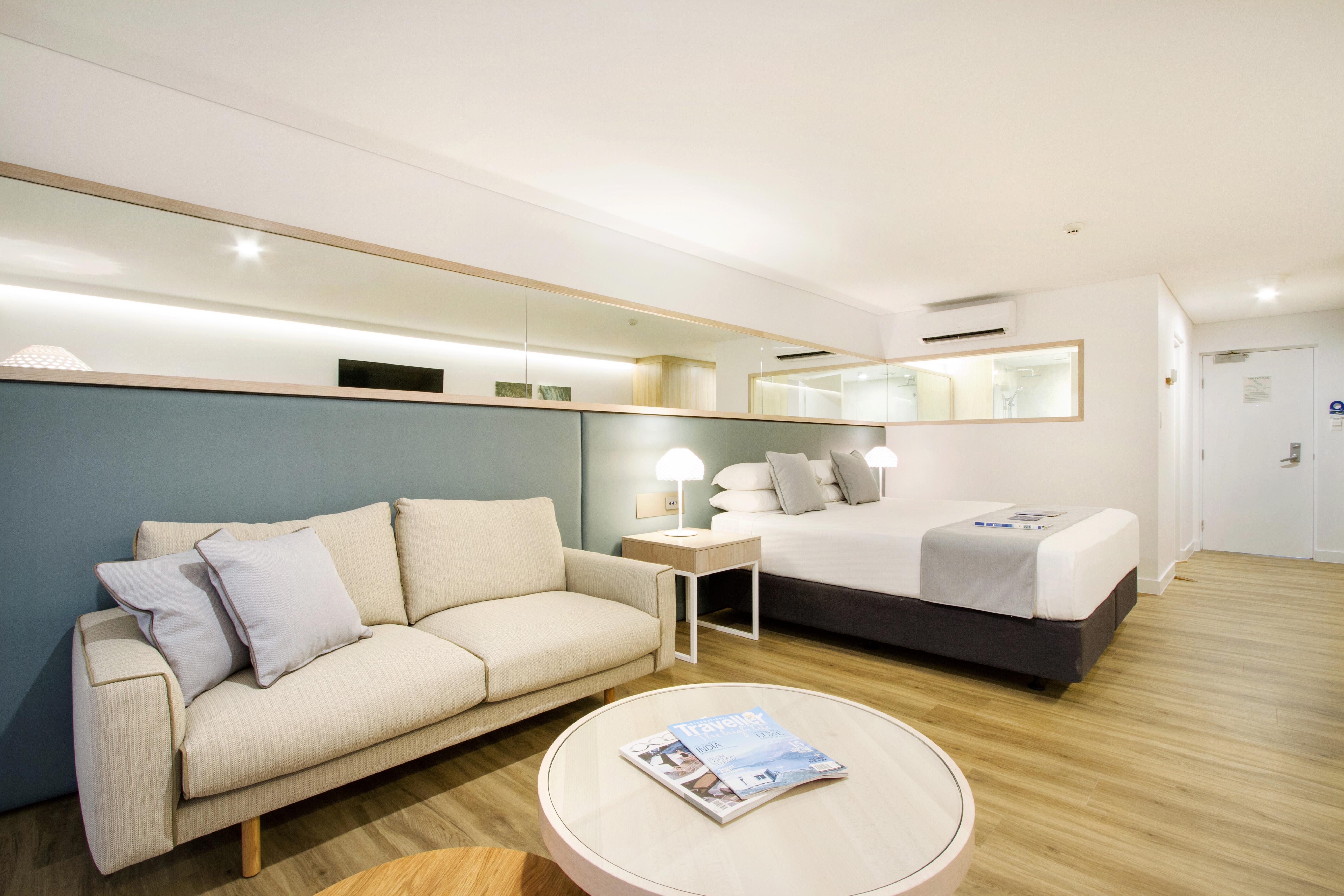 Daydream Island Mock Room - Bedroom