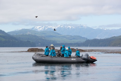 Seabourn Alaska - Ventures by Seabourn - zodiac2