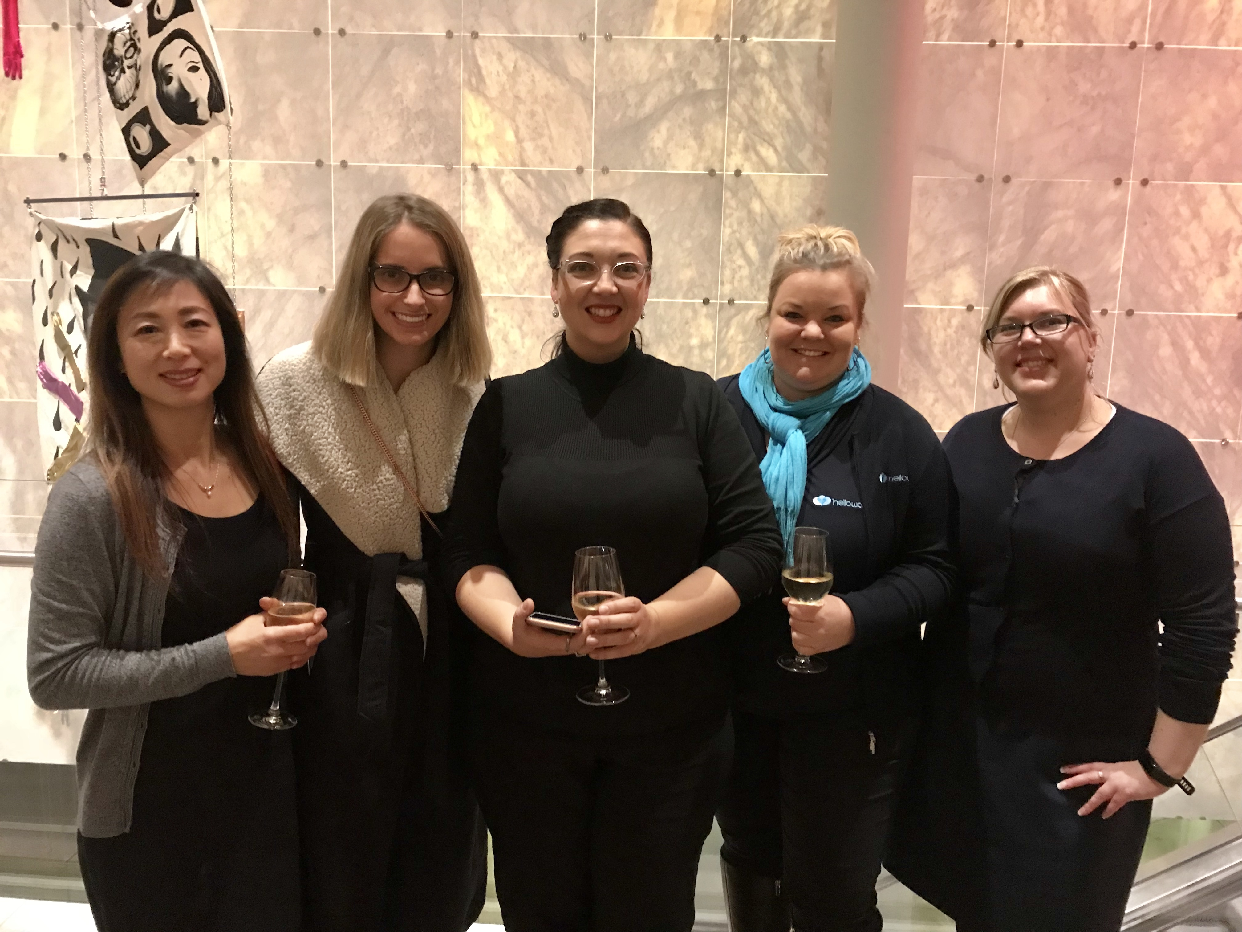 Pictured L-R: Anna Caldrmoska and Kaye Gray – Helloworld Travel Belconnen, Sonya Webb – Helloworld Travel Goulburn