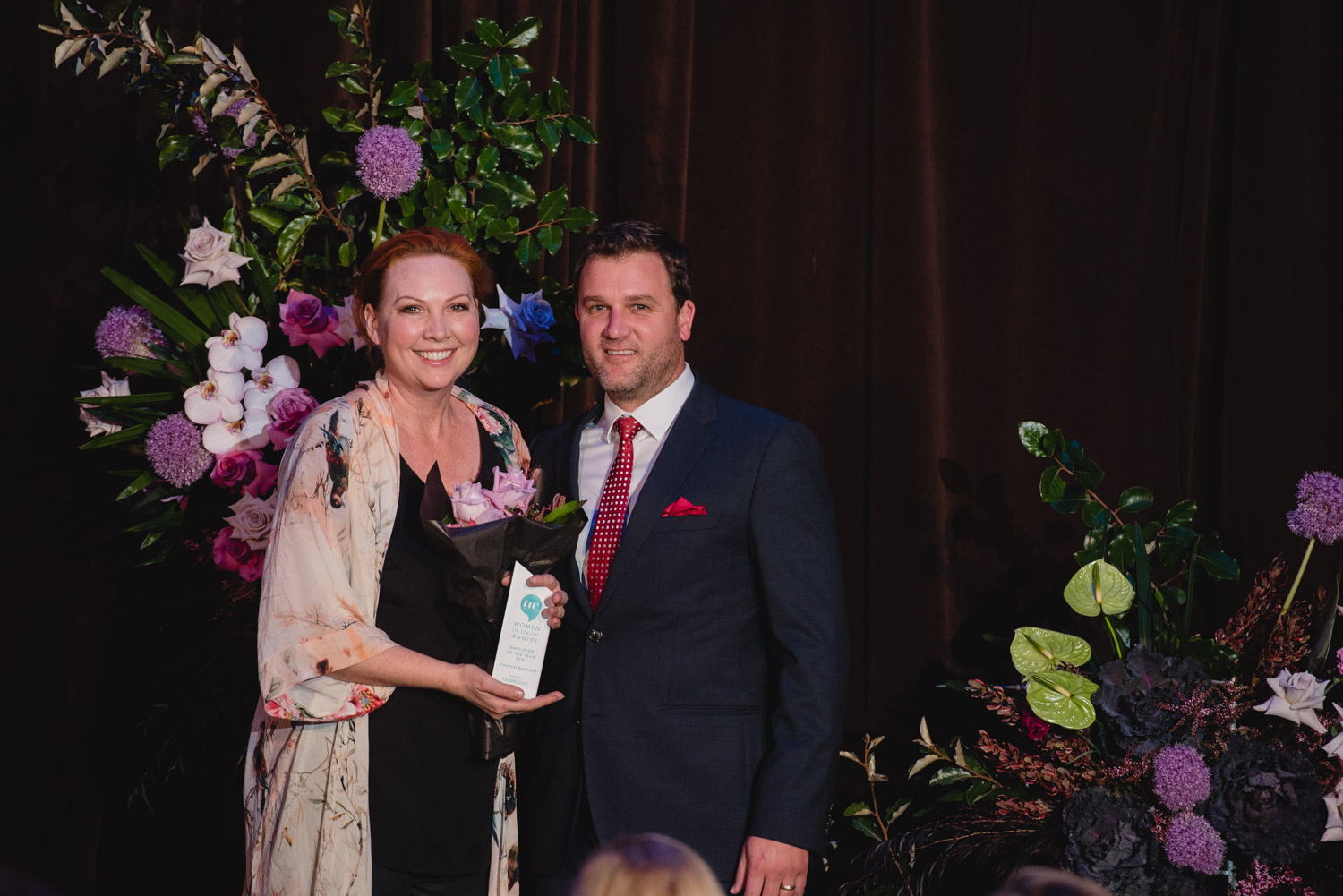 Employer of the year, Carnival Australia Photography by andre&dominqiue