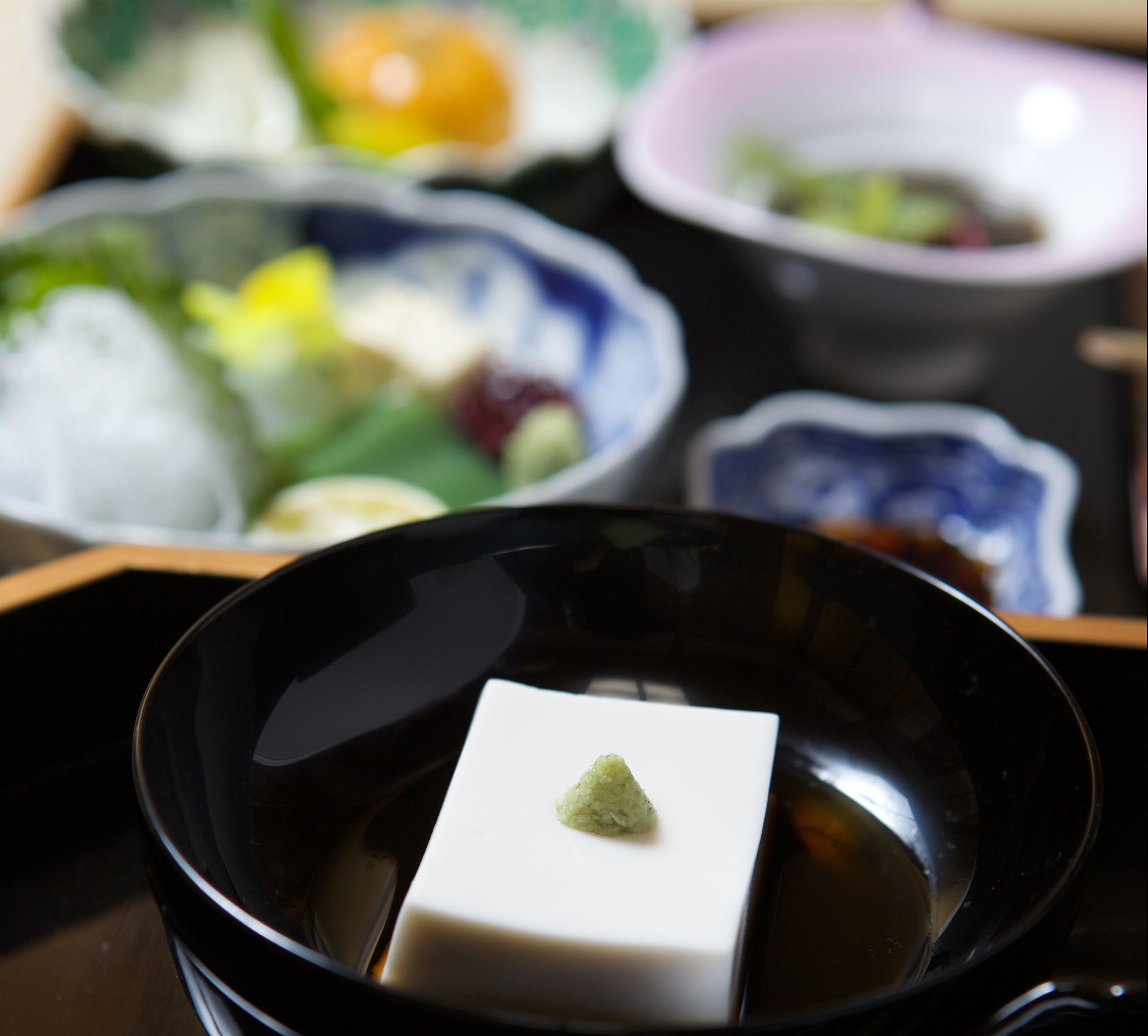 vegetarian cooking(sesame tofu)