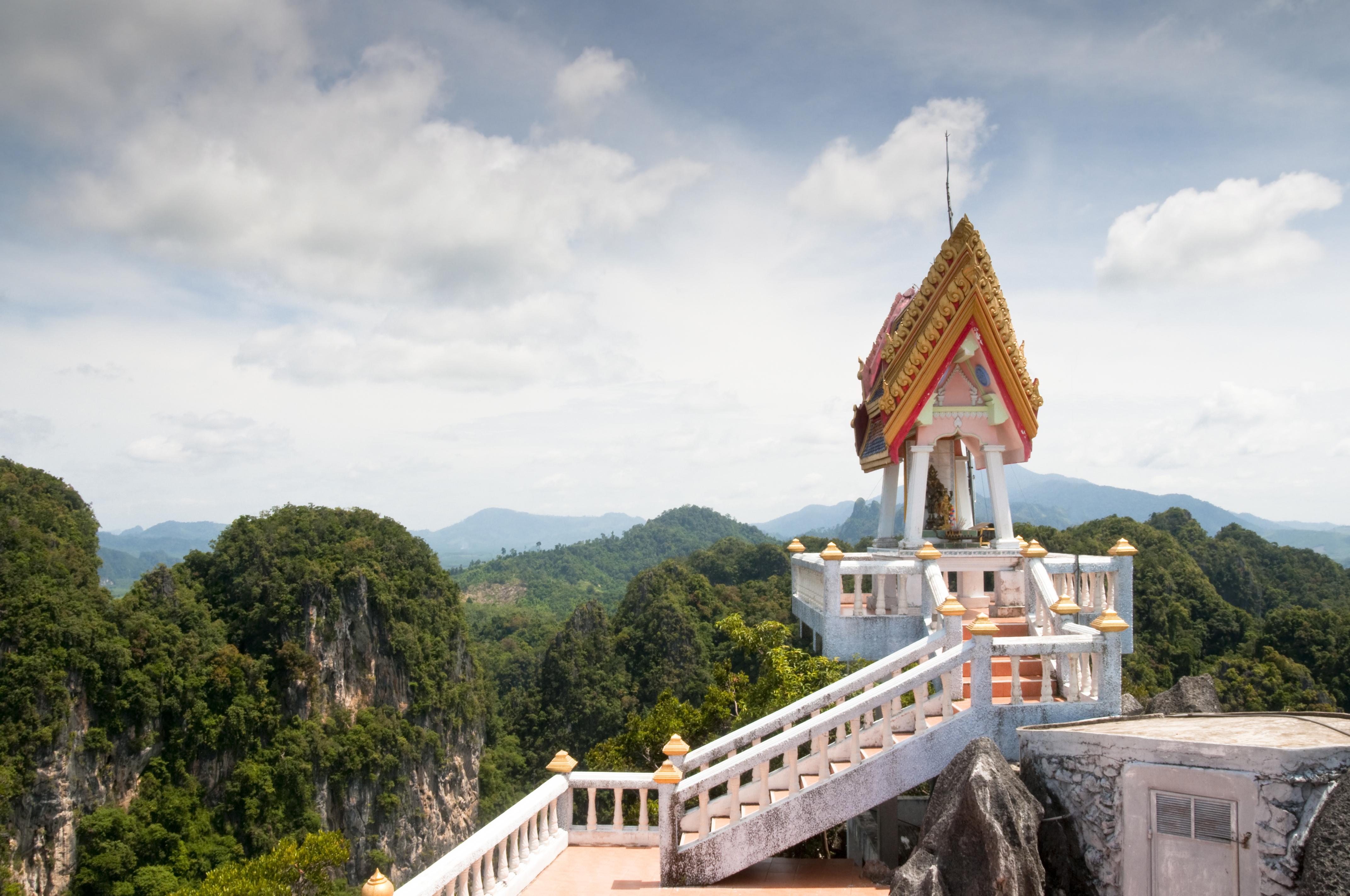 Wat Tham Sua (Tiger Cave Temple) In Krabi, Thailand