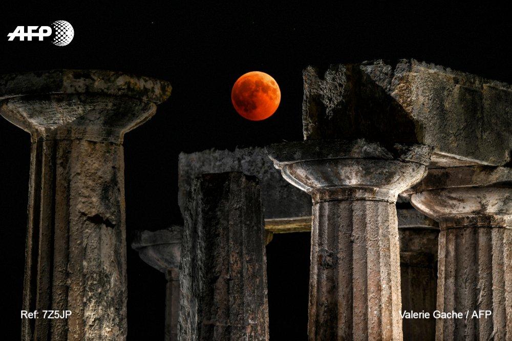 Corinth, Greece. Source: Valerie Gache/AFP