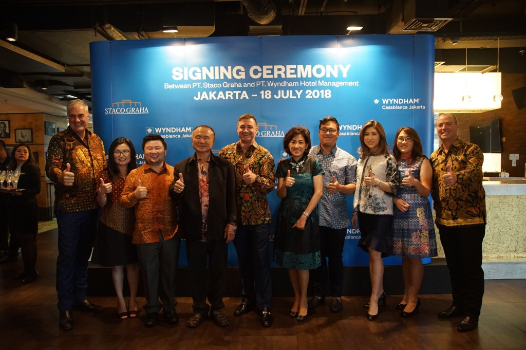 Signing Ceremony, Wyndham Casablanca Jakarta