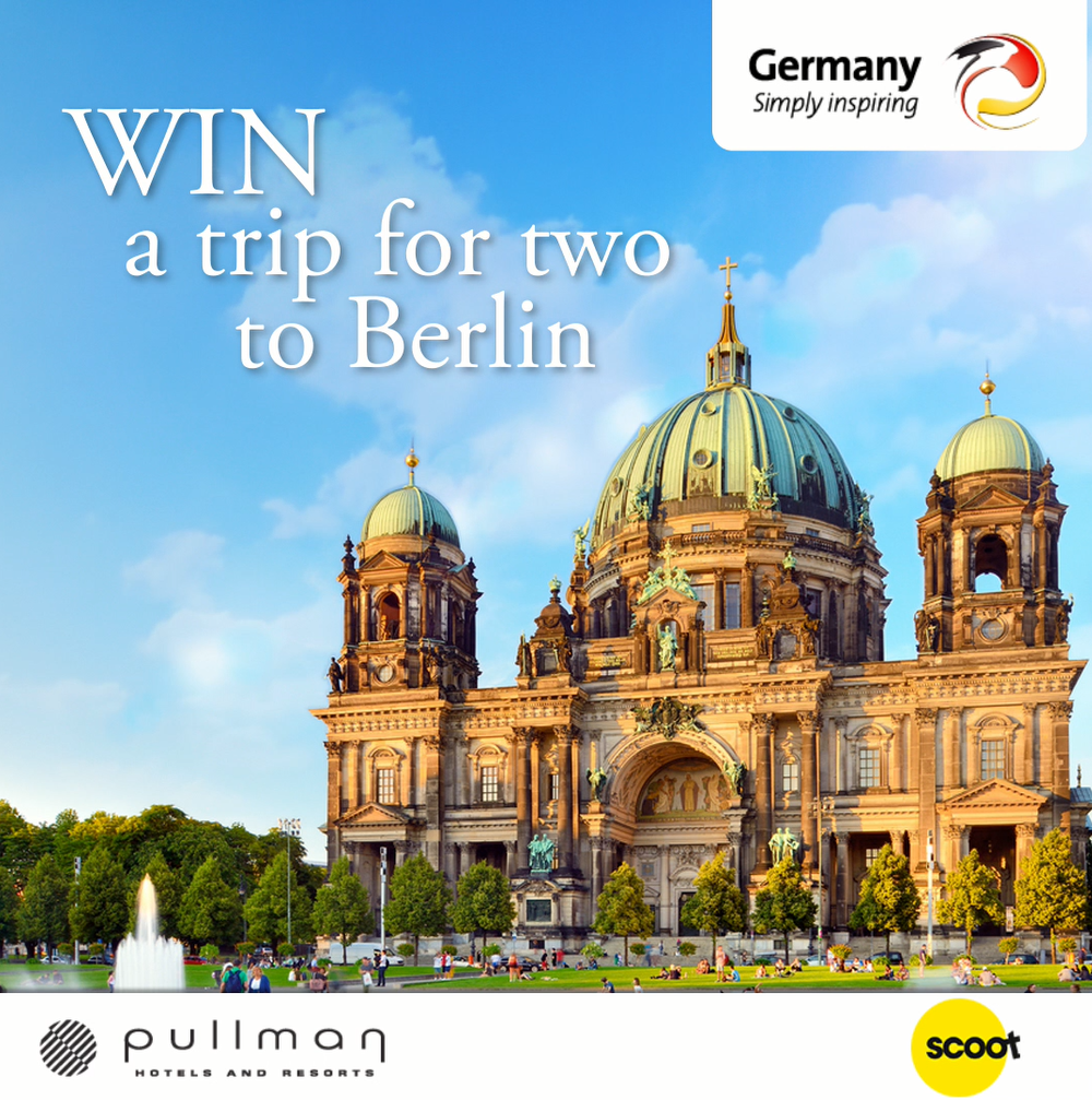 Win a trip fro 2 to Berlin