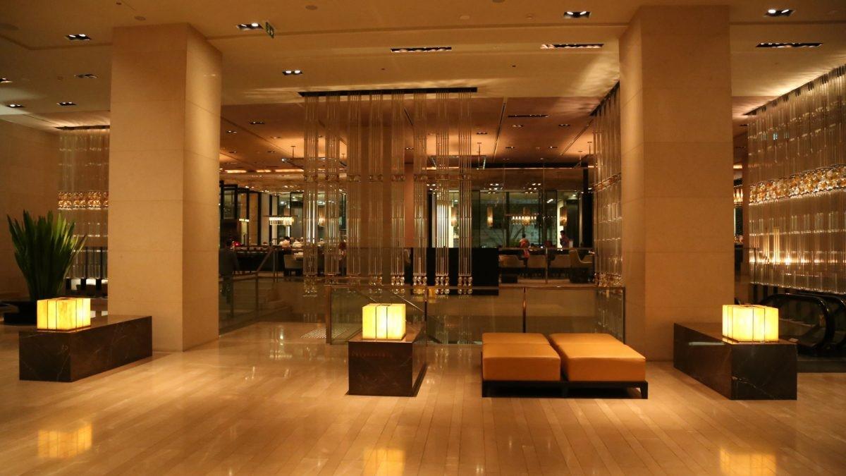 Grand Hyatt Melbourne Foyer : Hotel review the grand hyatt melbourne travel weekly