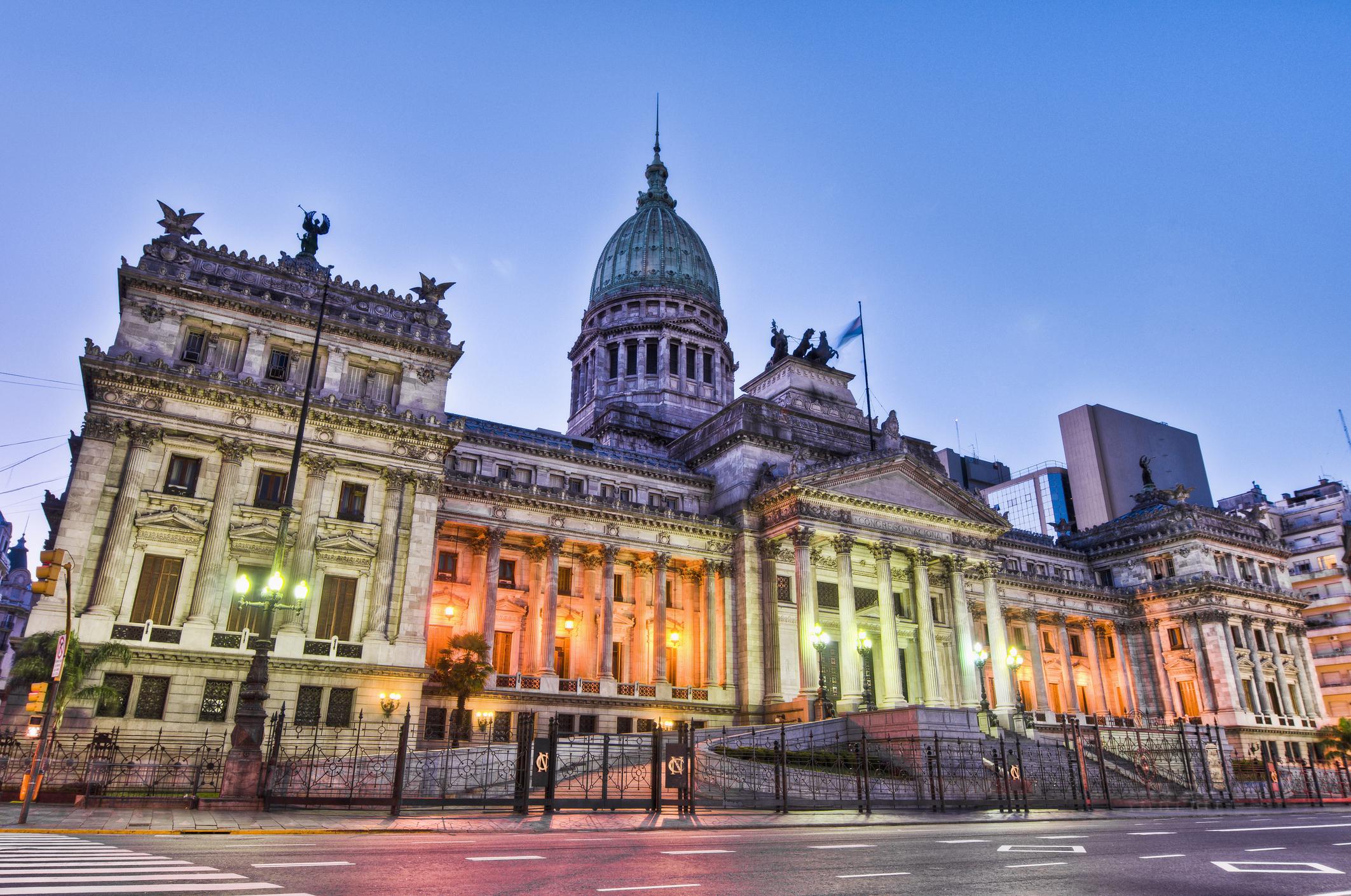 Argentina National Congress building.