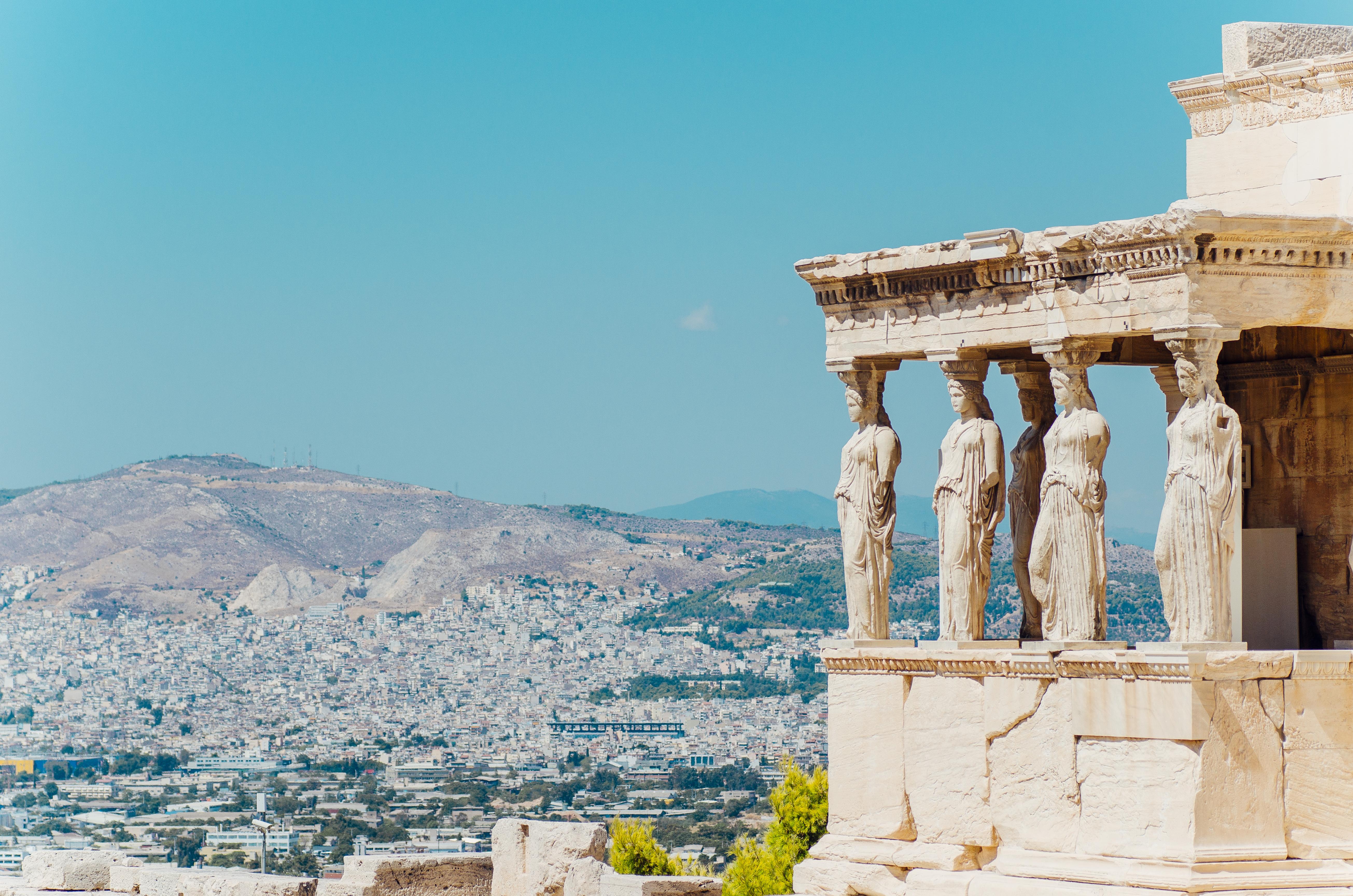 Erechtheion temple, Athens.