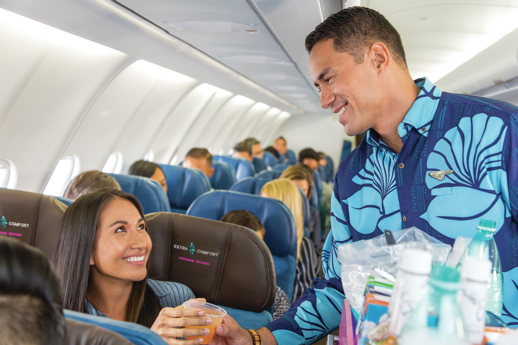 Flight Review Hawaiian Airlines Extra Comfort SYD HNL Travel Weekly