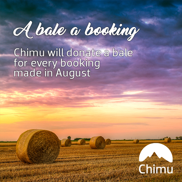 Bale a booking Facebook tile
