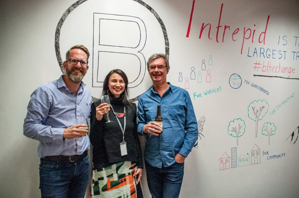 Intrepid received B Corp certification in 2018