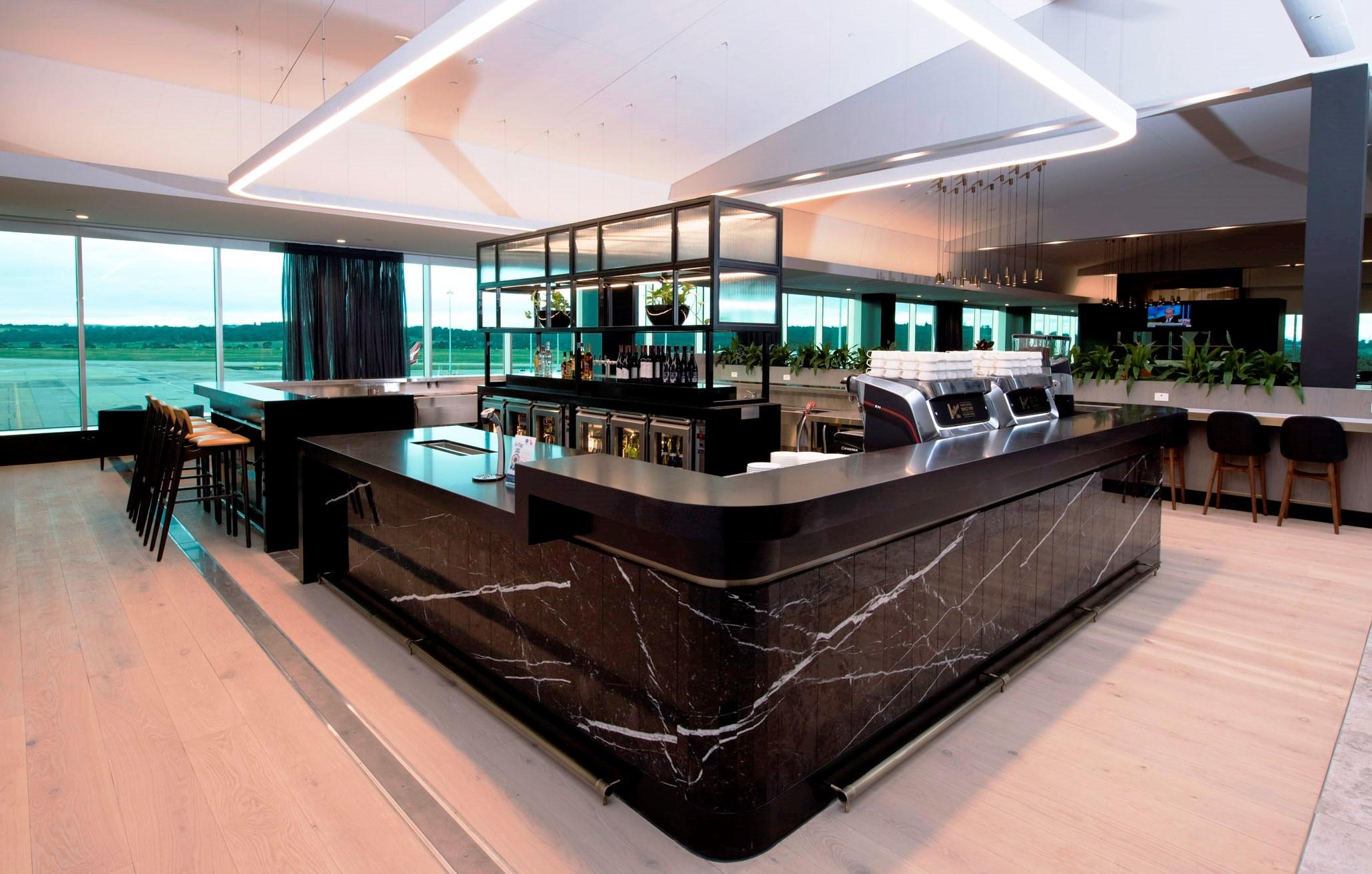 Melbourne Domestic Business Lounge - bar