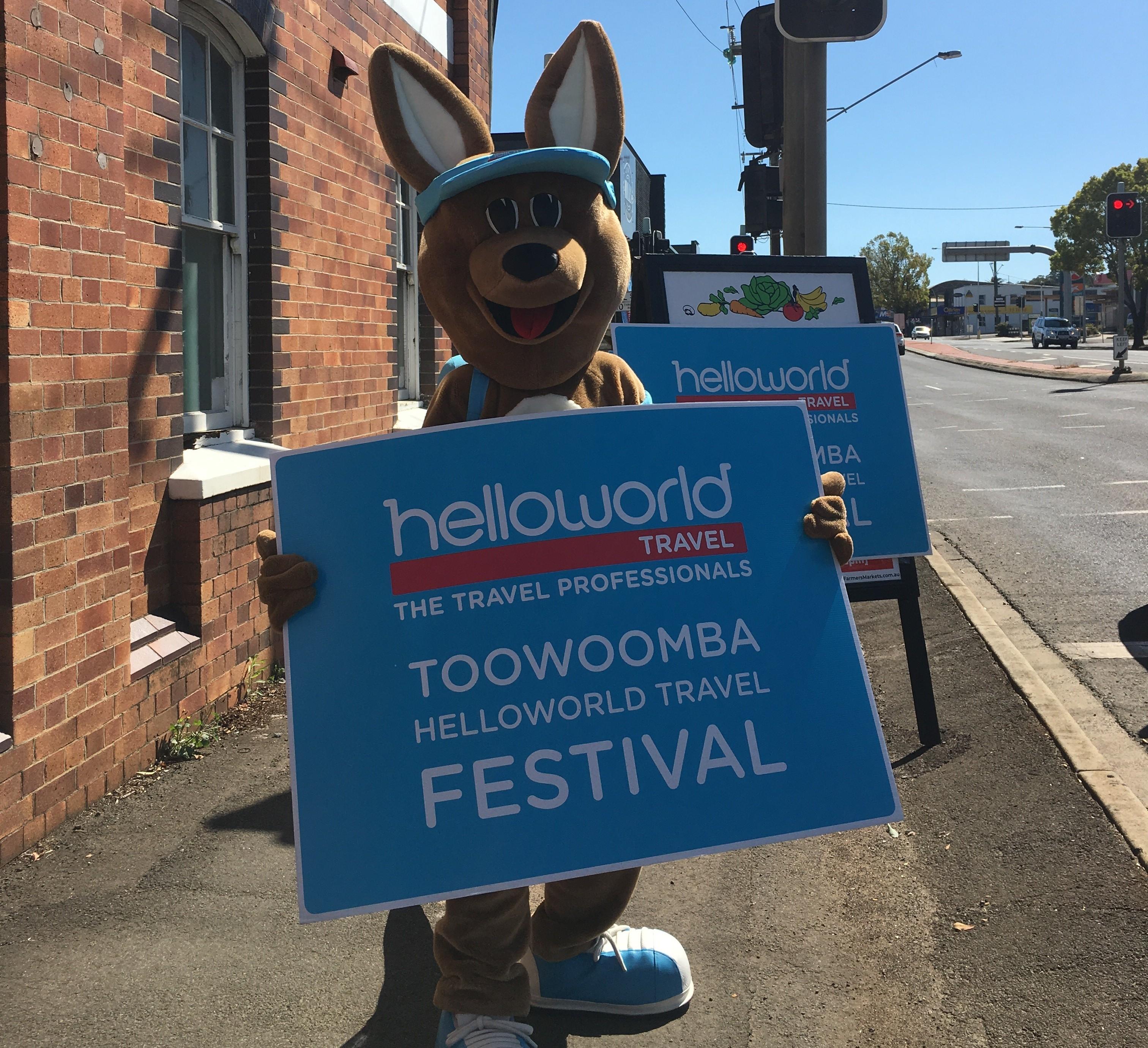 Helloworld Travel Festival Hits Toowoomba Travel Weekly